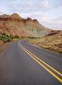 Sunrise Cathedral Rock John Day Fossil Beds Oregon - PhotoDune Item for Sale