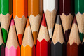 Many Different Colored Pencils. Close-Up Macro. - PhotoDune Item for Sale