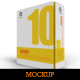 Software Book Style Box Mockup - GraphicRiver Item for Sale