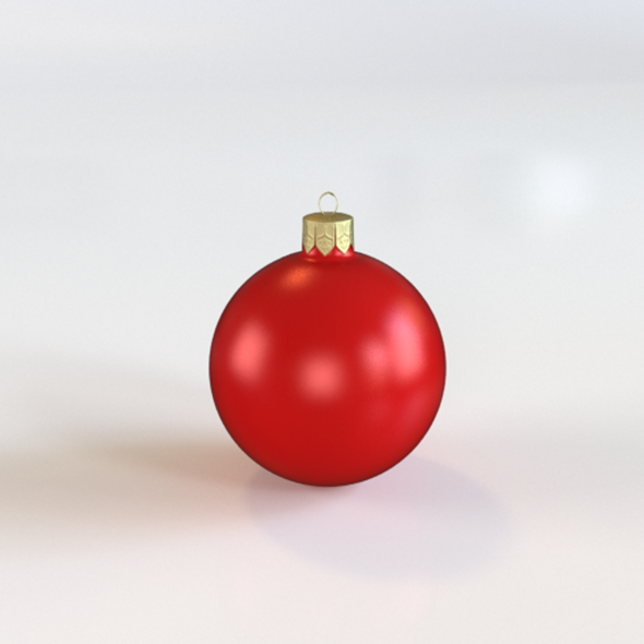 3DOcean Christmas bauble 9414883