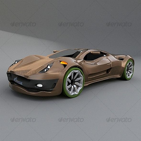 3DOcean Dreamcar concept 120615