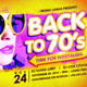Back to 70's Flyer - GraphicRiver Item for Sale