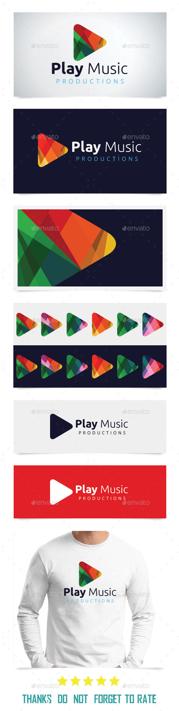 GraphicRiver Play Music 9415443