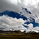 Clouds over a Mountain Field - VideoHive Item for Sale