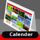 Yearly Desk Calender 2015 - GraphicRiver Item for Sale