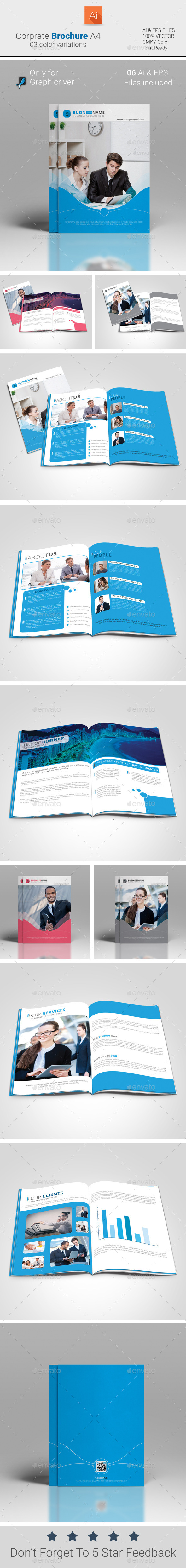 GraphicRiver Corporate Brochure A4 9343648