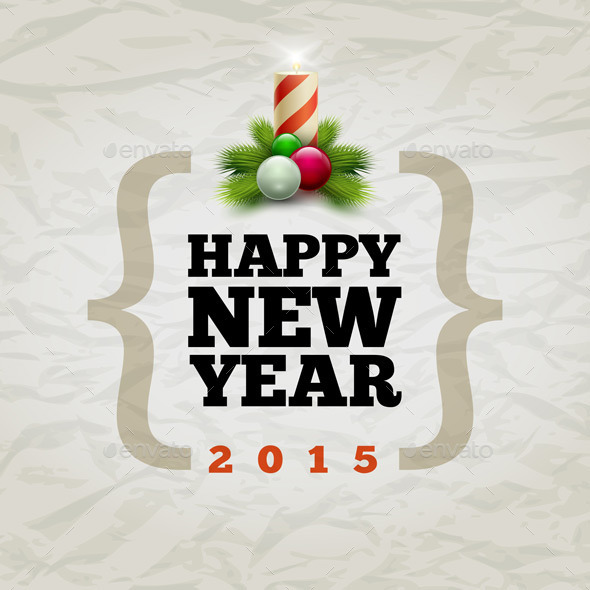 GraphicRiver Happy New Year 2015 9424033