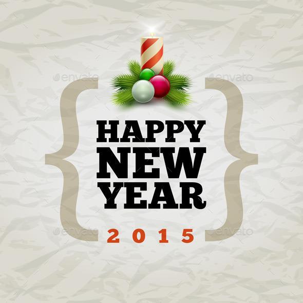 GraphicRiver Happy New Year 2015 9424033