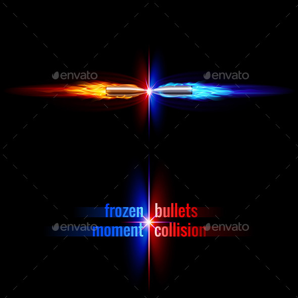 GraphicRiver Bullets Collision 9424436