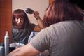 Man combs wig - PhotoDune Item for Sale