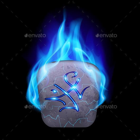 GraphicRiver Runic Stone 9425052