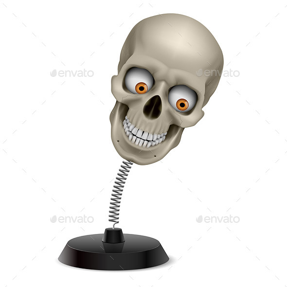 GraphicRiver Skull Souvenir 9425072