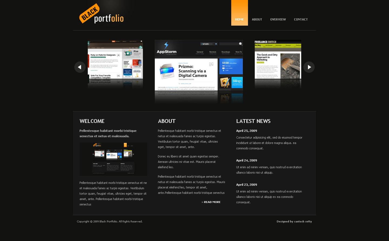 BLACK PORTFOLIO - Home Page of Black Portfolio