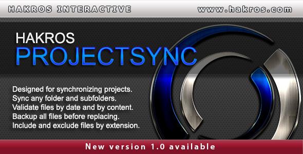 CodeCanyon Hakros ProjectSync 9425321