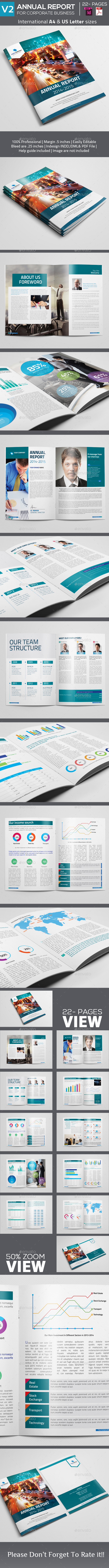 GraphicRiver Annual Report 22 pages V2 9425439