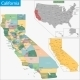 California Map - GraphicRiver Item for Sale
