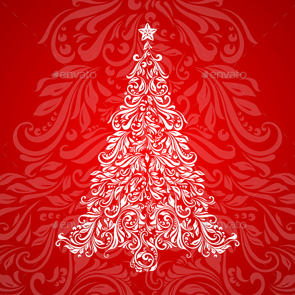 GraphicRiver Christmas Tree 9425504
