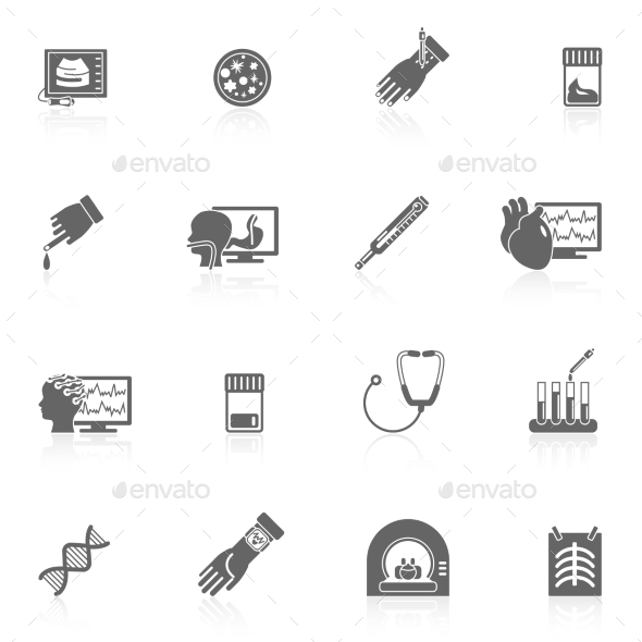 GraphicRiver Medical Icons 9425548