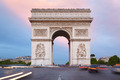 Arc de Triomphe in Paris in the morning - PhotoDune Item for Sale