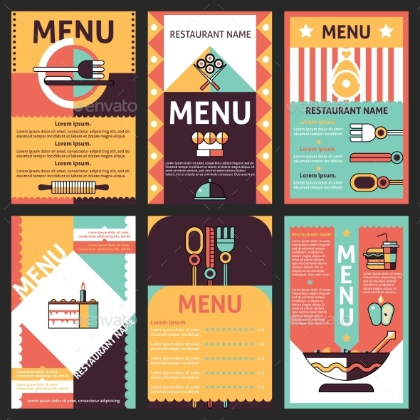 GraphicRiver Restaurant Menu Designs 9425641