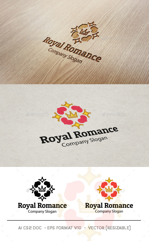 GraphicRiver Royal Romance V2 Logo 9425989