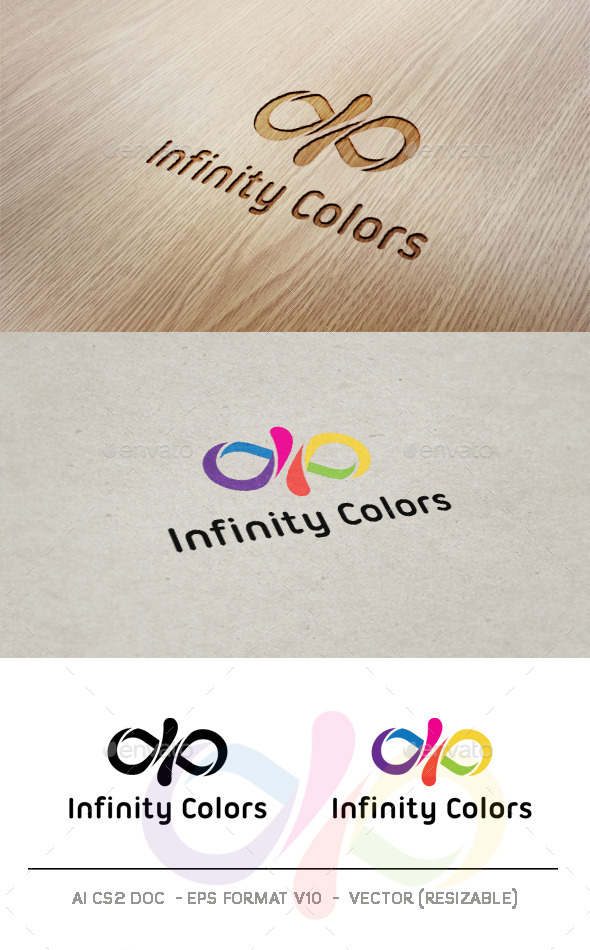 GraphicRiver Infinity Colors Logo 9426022