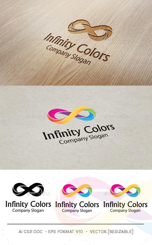 GraphicRiver Infinity Colors V2 Logo 9426029