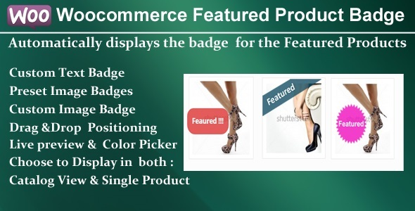 CodeCanyon Woocommerce Featured Product Badge 9426074