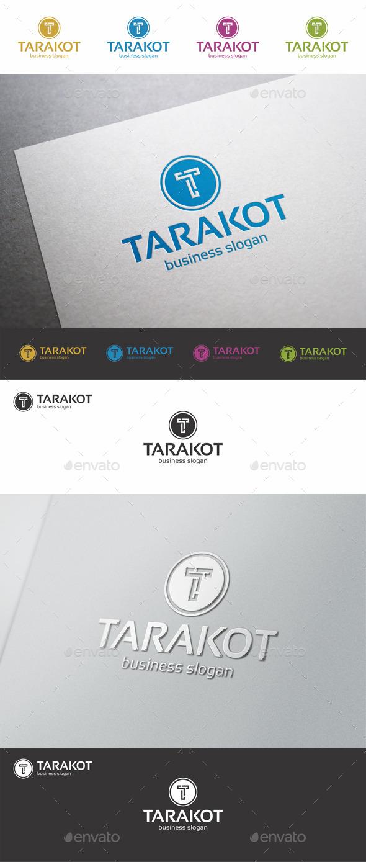 GraphicRiver T Letter Logo Template 9426155