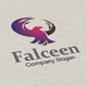 Falceen Logo - GraphicRiver Item for Sale