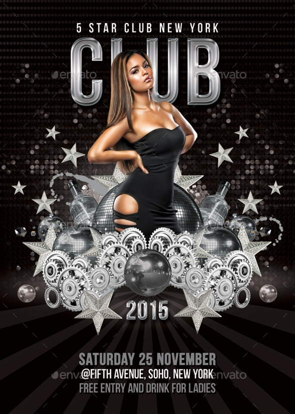 GraphicRiver 5 Star Club Party Or Celebration 9369916