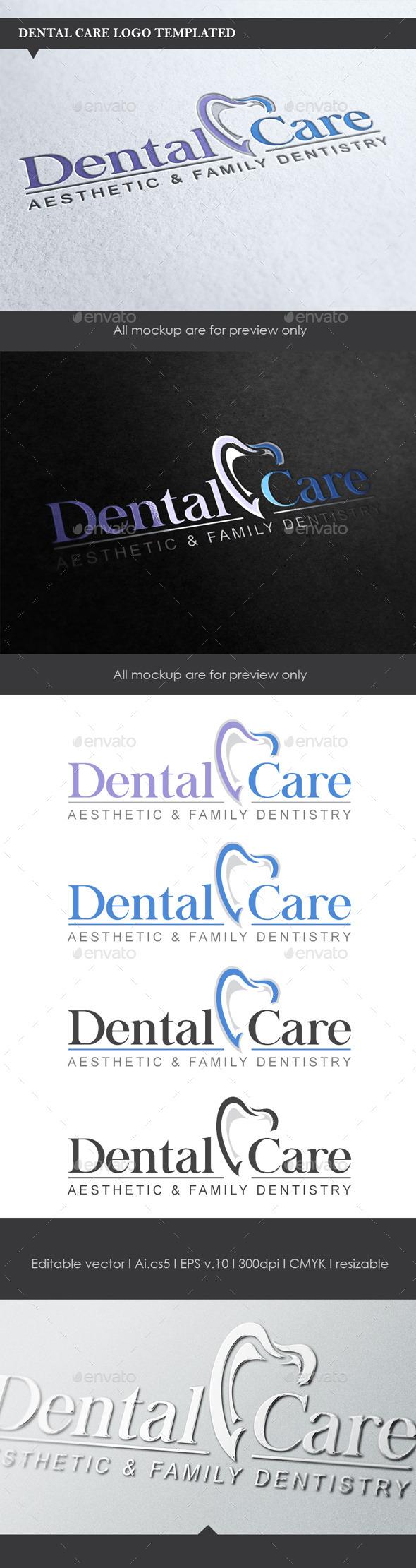 GraphicRiver Dental Logo 9427329