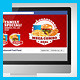 Restaurant Fast Food Web Social Media Kit  - GraphicRiver Item for Sale
