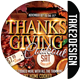 Thanksgiving party - Thanksgiving Cookout - GraphicRiver Item for Sale