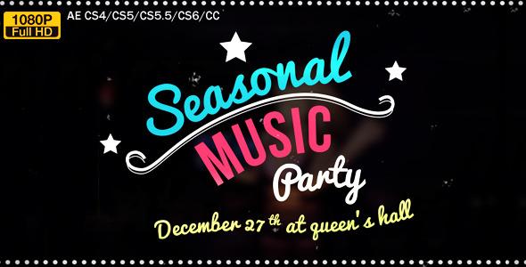 Retro Music Party