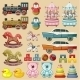 Set of Toys.  - GraphicRiver Item for Sale