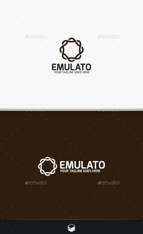 GraphicRiver Emulato Logo 9257972
