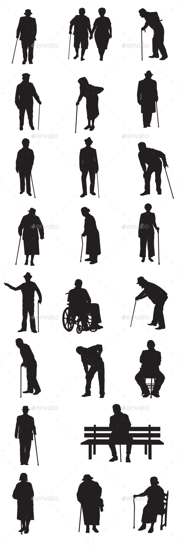 GraphicRiver Old People 9427881