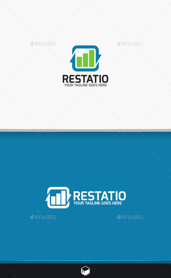 GraphicRiver Restatio Logo 9427884