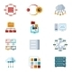 Computer Networking Icons - GraphicRiver Item for Sale