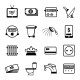 Vector Bills Icons - GraphicRiver Item for Sale