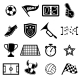 Football Fans Icons - GraphicRiver Item for Sale