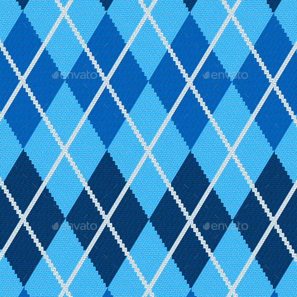 GraphicRiver Argyle Fabric 9428315