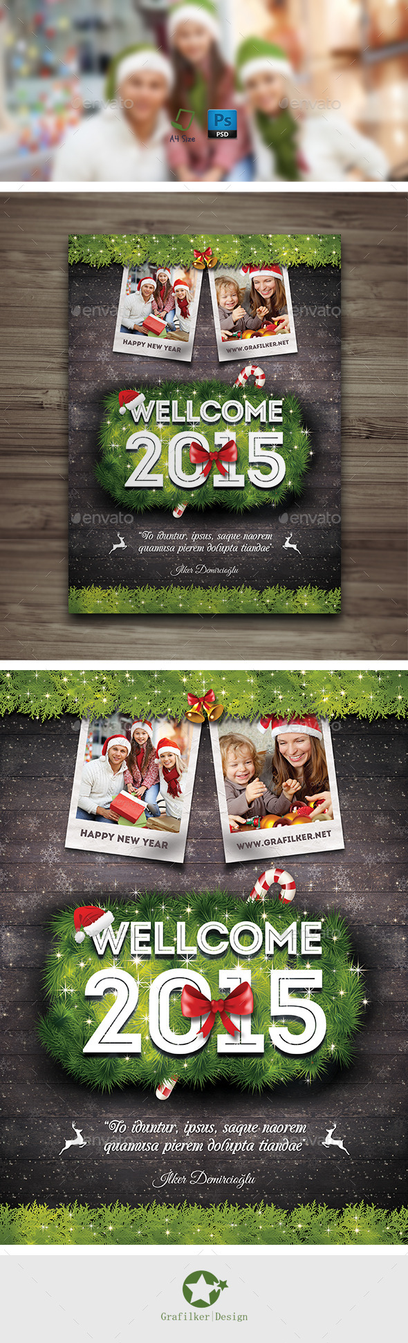 GraphicRiver Christmas Flyer Templates 9429048