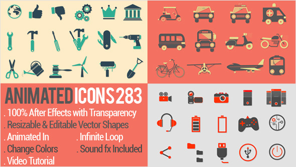 Animated Icons 283