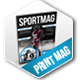 Sport Magazine Template  - GraphicRiver Item for Sale