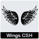 44 Wings Custom Shape