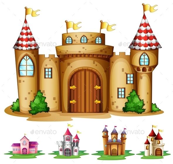GraphicRiver Castles 9429545