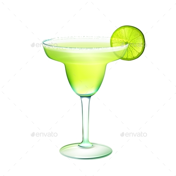 GraphicRiver Margarita Cocktail 9429548
