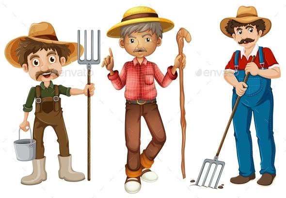 GraphicRiver Farmers 9429732